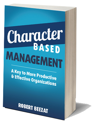 character based management book cover